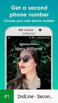 2ndLine - Second Phone Number app screenshot 1