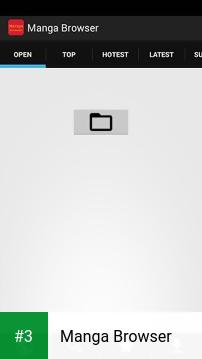 Manga Browser app screenshot 3