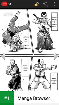 Manga Browser app screenshot 1
