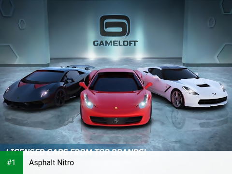 Asphalt Nitro app screenshot 1