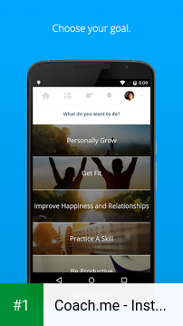 Coach.me - Instant Coaching app screenshot 1
