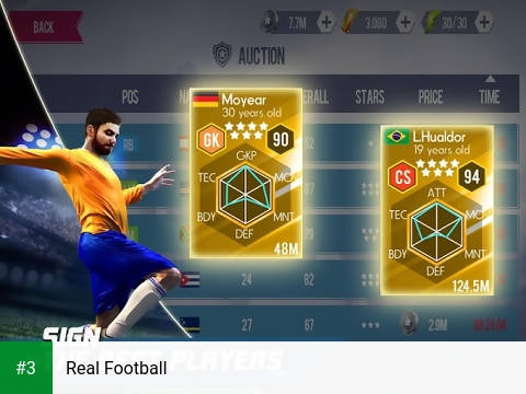 Real Football app screenshot 3