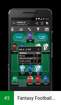Fantasy Football Manager app screenshot 3