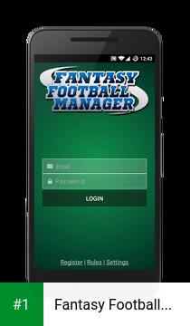 Fantasy Football Manager app screenshot 1