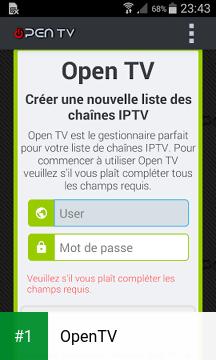 OpenTV app screenshot 1