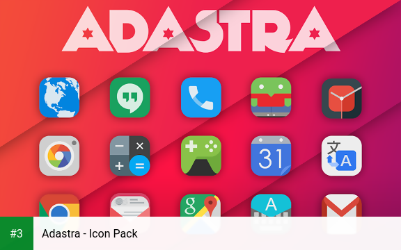 Adastra - Icon Pack app screenshot 3