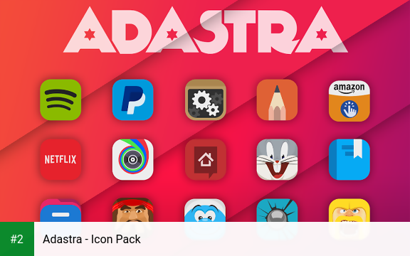 Adastra - Icon Pack apk screenshot 2