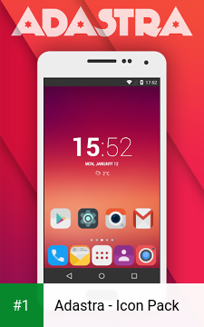 Adastra - Icon Pack app screenshot 1