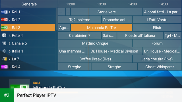 Perfect Player IPTV apk screenshot 2
