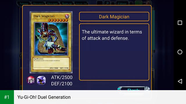 Yu-Gi-Oh! Duel Generation app screenshot 1