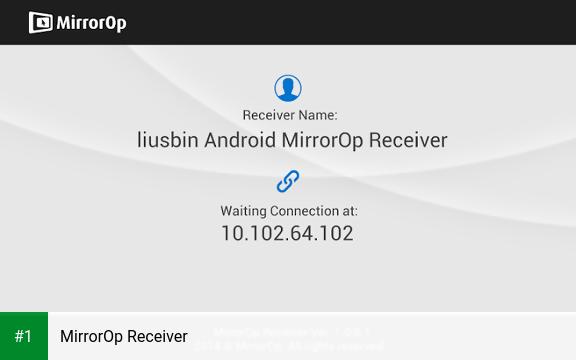 MirrorOp Receiver app screenshot 1