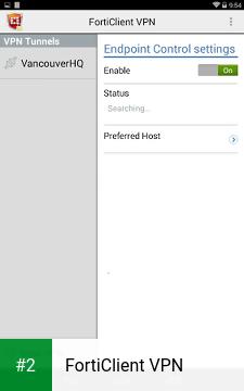 FortiClient VPN apk screenshot 2