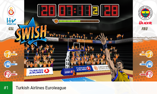 Turkish Airlines Euroleague app screenshot 1