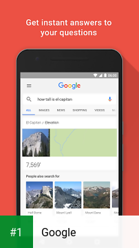 Google app screenshot 1