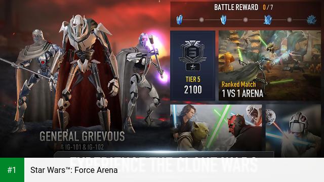 Star Wars™: Force Arena app screenshot 1