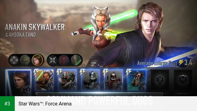 Star Wars™: Force Arena app screenshot 3