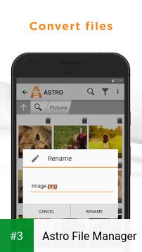 Astro File Manager app screenshot 3