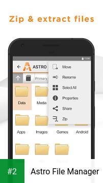 Astro File Manager apk screenshot 2