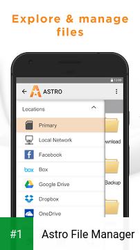 Astro File Manager app screenshot 1