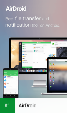 AirDroid app screenshot 1