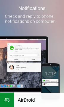 AirDroid app screenshot 3