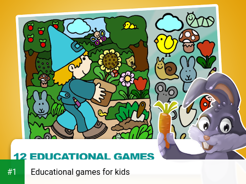 Educational games for kids app screenshot 1