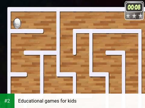 Educational games for kids apk screenshot 2