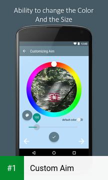 Custom Aim app screenshot 1