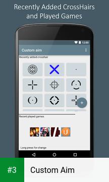 Custom Aim app screenshot 3