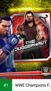 WWE Champions Free Puzzle RPG app screenshot 1