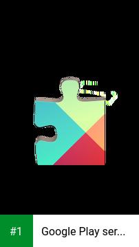 Google Play services app screenshot 1