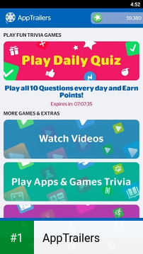 AppTrailers app screenshot 1