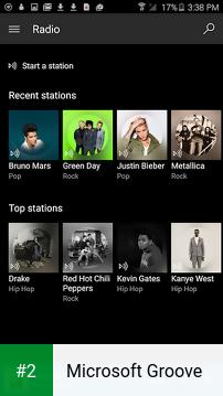 Microsoft Groove apk screenshot 2