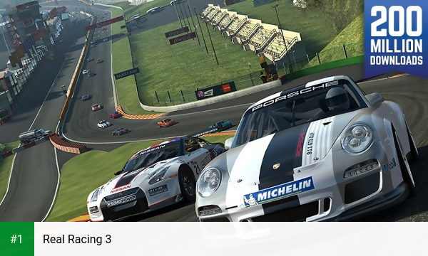 Real Racing 3 app screenshot 1