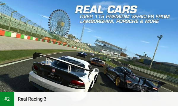 Real Racing 3 apk screenshot 2