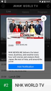NHK WORLD TV apk screenshot 2