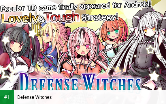 Defense Witches app screenshot 1