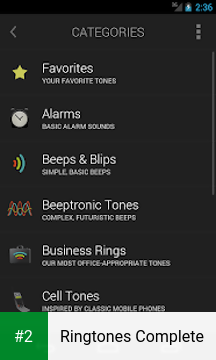Ringtones Complete apk screenshot 2
