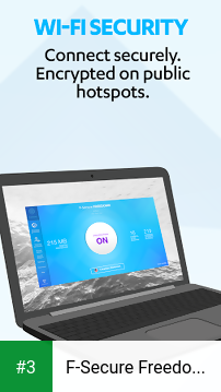F-Secure Freedome VPN app screenshot 3