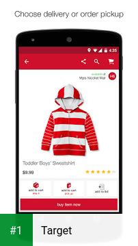 Target app screenshot 1