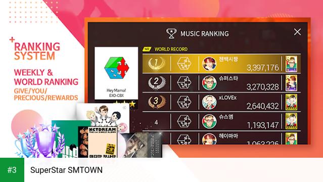 SuperStar SMTOWN app screenshot 3