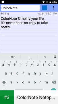 ColorNote Notepad Notes app screenshot 3