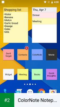 ColorNote Notepad Notes apk screenshot 2