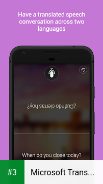 Microsoft Translator app screenshot 3