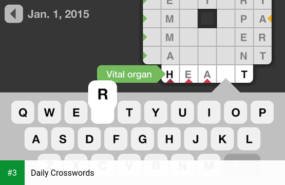 Daily Crosswords app screenshot 3