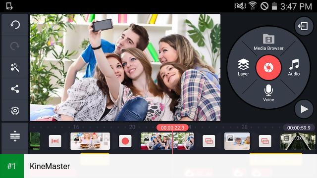 KineMaster app screenshot 1