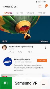 Samsung VR – Videos app screenshot 1