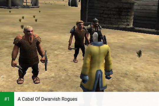 A Cabal Of Dwarvish Rogues app screenshot 1
