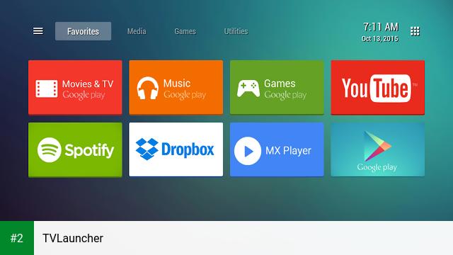 TVLauncher apk screenshot 2