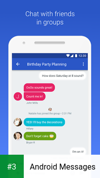 Android Messages app screenshot 3